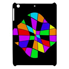 Abstract colorful flower Apple iPad Mini Hardshell Case