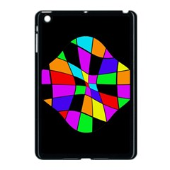 Abstract colorful flower Apple iPad Mini Case (Black)
