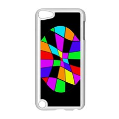 Abstract colorful flower Apple iPod Touch 5 Case (White)