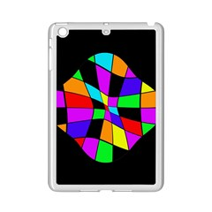 Abstract colorful flower iPad Mini 2 Enamel Coated Cases