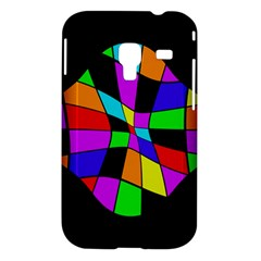 Abstract colorful flower Samsung Galaxy Ace Plus S7500 Hardshell Case
