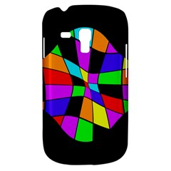 Abstract colorful flower Samsung Galaxy S3 MINI I8190 Hardshell Case