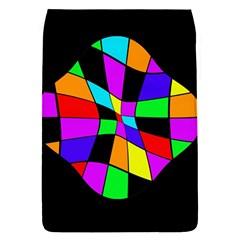 Abstract colorful flower Flap Covers (S)