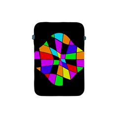 Abstract colorful flower Apple iPad Mini Protective Soft Cases