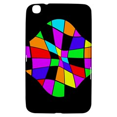 Abstract colorful flower Samsung Galaxy Tab 3 (8 ) T3100 Hardshell Case