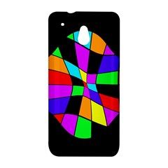 Abstract colorful flower HTC One Mini (601e) M4 Hardshell Case