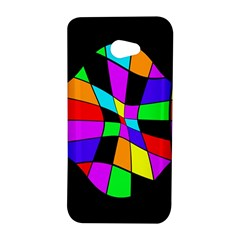 Abstract colorful flower HTC Butterfly S/HTC 9060 Hardshell Case