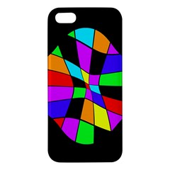 Abstract colorful flower iPhone 5S/ SE Premium Hardshell Case