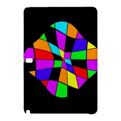 Abstract colorful flower Samsung Galaxy Tab Pro 10.1 Hardshell Case