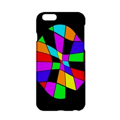 Abstract colorful flower Apple iPhone 6/6S Hardshell Case