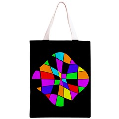 Abstract colorful flower Classic Light Tote Bag