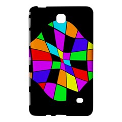 Abstract colorful flower Samsung Galaxy Tab 4 (8 ) Hardshell Case