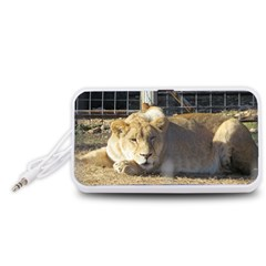 FeMale Lion Portable Speaker (White)