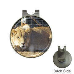 FeMale Lion Hat Clips with Golf Markers