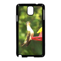 Female Ruby Throated Hummngbird Samsung Galaxy Note 3 Neo Hardshell Case (Black)
