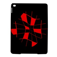 Red abstract flower iPad Air 2 Hardshell Cases