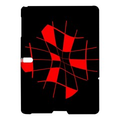 Red abstract flower Samsung Galaxy Tab S (10.5 ) Hardshell Case