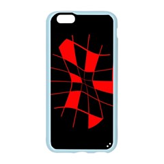 Red abstract flower Apple Seamless iPhone 6/6S Case (Color)