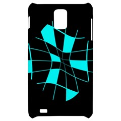 Blue abstract flower Samsung Infuse 4G Hardshell Case