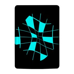 Blue abstract flower Kindle 4