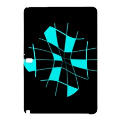 Blue Abstract Flower Samsung Galaxy Tab Pro 12 2 Hardshell Case