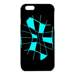 Blue abstract flower iPhone 6/6S TPU Case