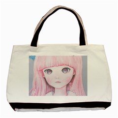 Slow Spring Basic Tote Bag