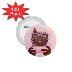 Gamergirl 3 P 1.75  Buttons (100 pack)