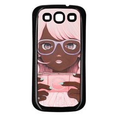 Gamergirl 3 P Samsung Galaxy S3 Back Case (Black)
