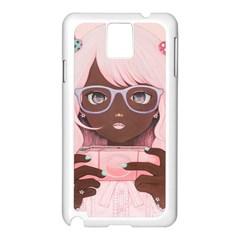 Gamergirl 3 P Samsung Galaxy Note 3 N9005 Case (White)
