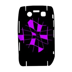 Purple abstract flower Bold 9700