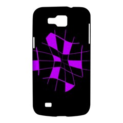 Purple abstract flower Samsung Galaxy Premier I9260 Hardshell Case