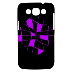 Purple abstract flower Samsung Galaxy Win I8550 Hardshell Case