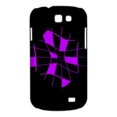 Purple abstract flower Samsung Galaxy Express I8730 Hardshell Case