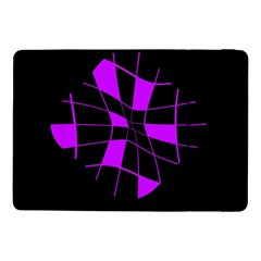 Purple abstract flower Samsung Galaxy Tab Pro 10.1  Flip Case