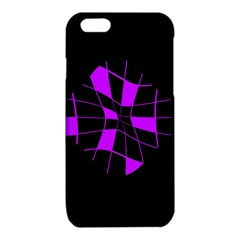 Purple abstract flower iPhone 6/6S TPU Case