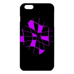 Purple Abstract Flower Iphone 6 Plus/6s Plus Tpu Case