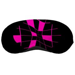Pink abstract flower Sleeping Masks