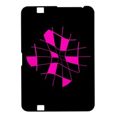 Pink abstract flower Kindle Fire HD 8.9