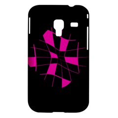 Pink abstract flower Samsung Galaxy Ace Plus S7500 Hardshell Case