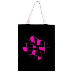 Pink abstract flower Classic Light Tote Bag