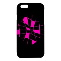Pink abstract flower iPhone 6/6S TPU Case