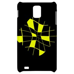 Yellow abstract flower Samsung Infuse 4G Hardshell Case