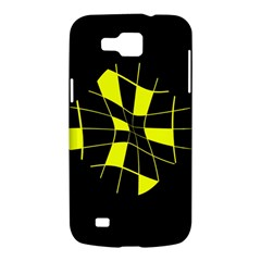 Yellow abstract flower Samsung Galaxy Premier I9260 Hardshell Case
