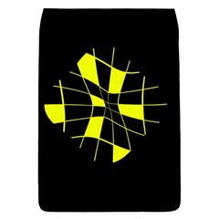 Yellow abstract flower Flap Covers (S)