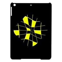 Yellow abstract flower iPad Air Hardshell Cases