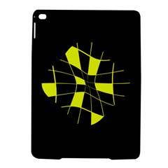 Yellow abstract flower iPad Air 2 Hardshell Cases