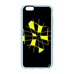 Yellow abstract flower Apple Seamless iPhone 6/6S Case (Color)
