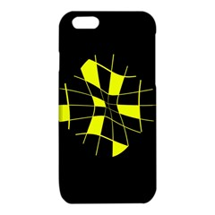 Yellow abstract flower iPhone 6/6S TPU Case
