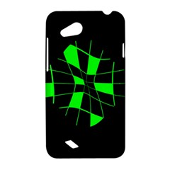 Green abstract flower HTC Desire VC (T328D) Hardshell Case